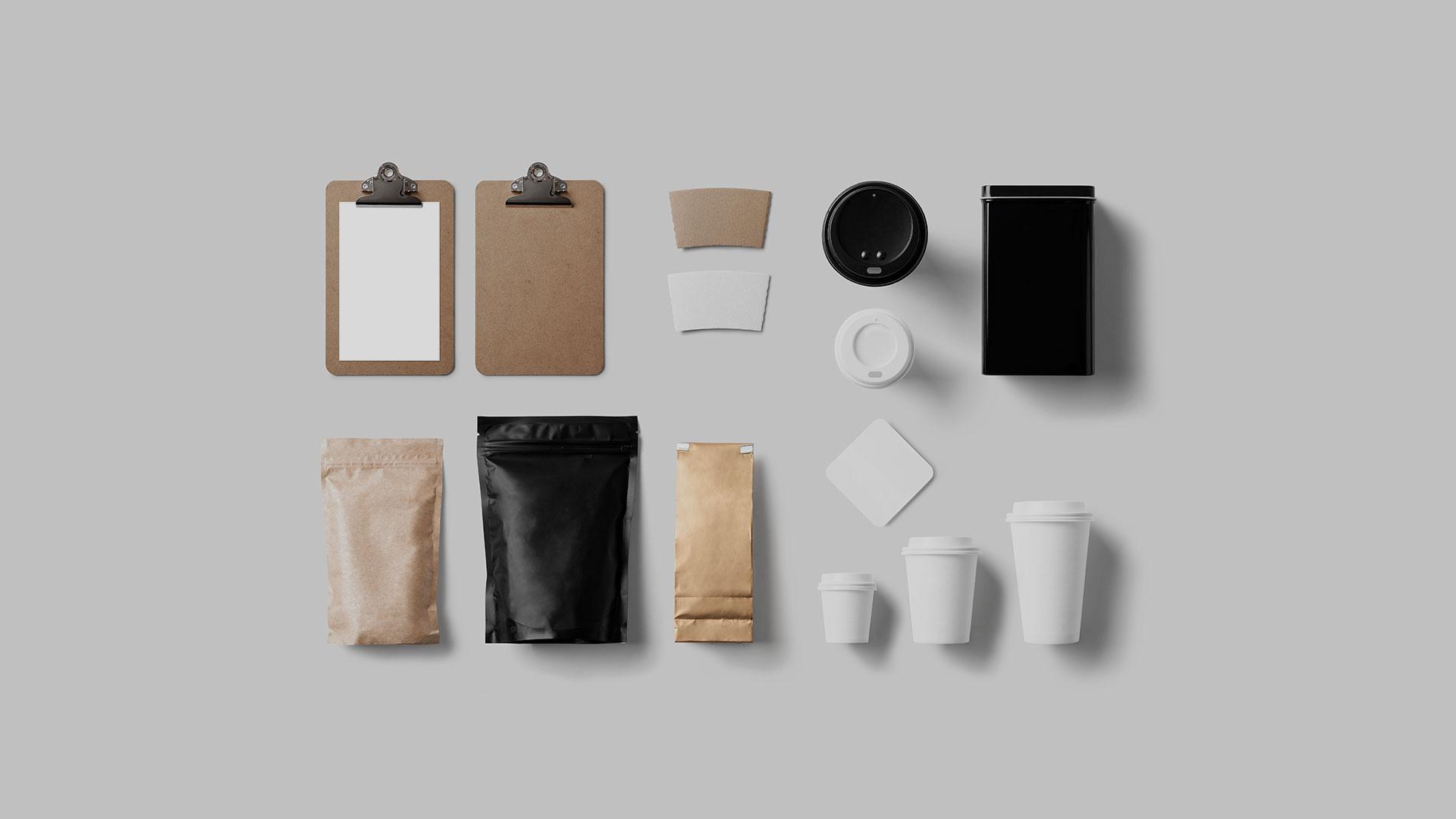Coffee branding & identity